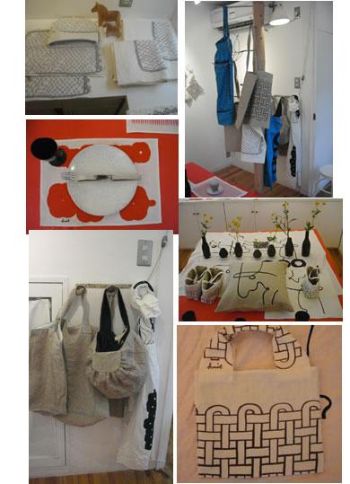 ギャラリージュウドポウム printing&sewing展